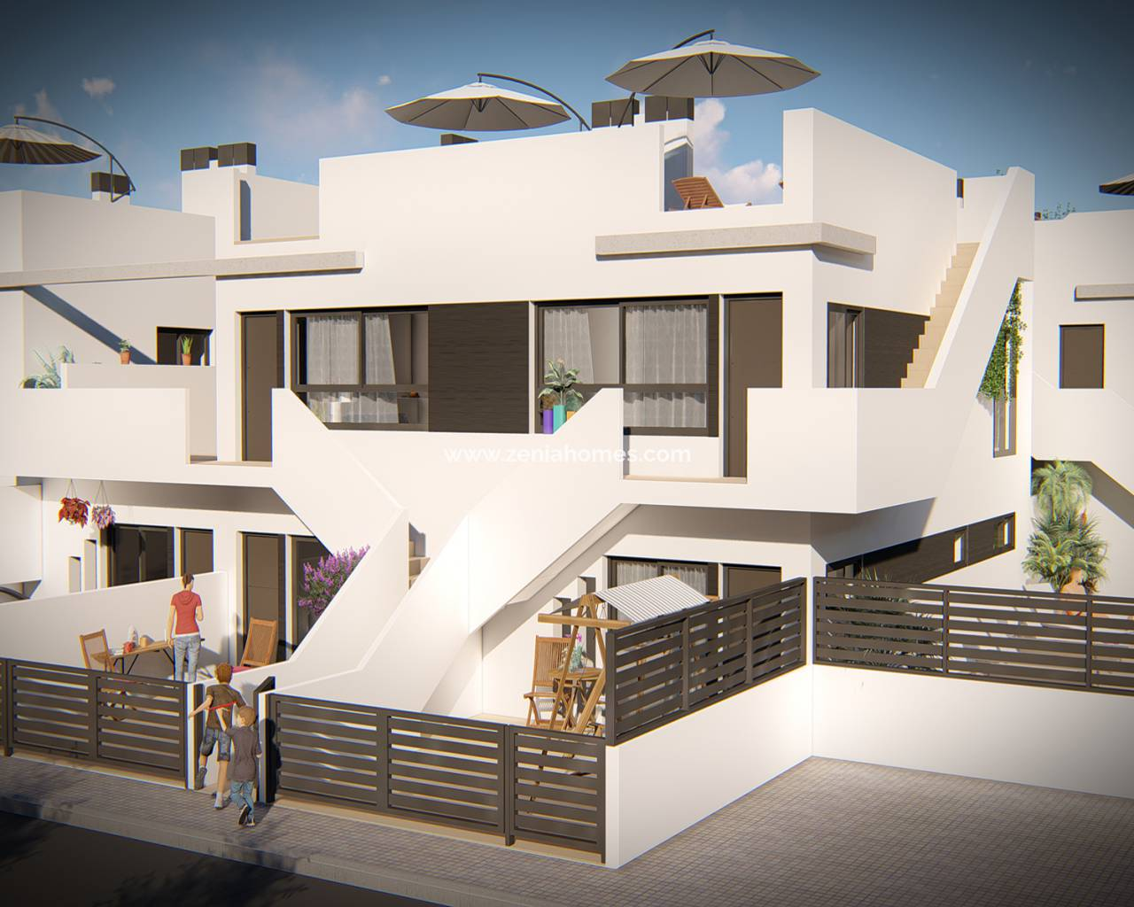 Duplex - New Build - Lo Pagan - Lo Pagan