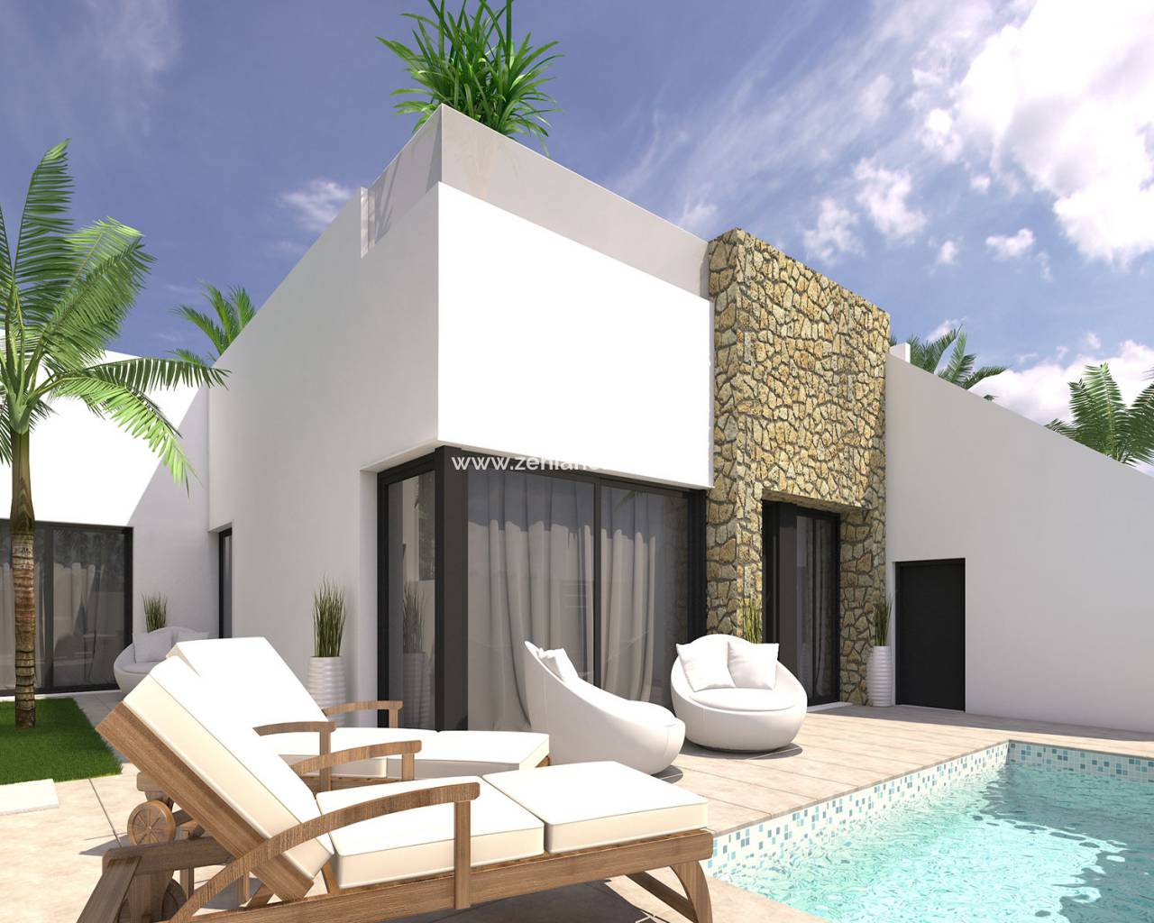 Semi-Detached Villa - New Build - Pilar de la Horadada - Pilar de la Horadada
