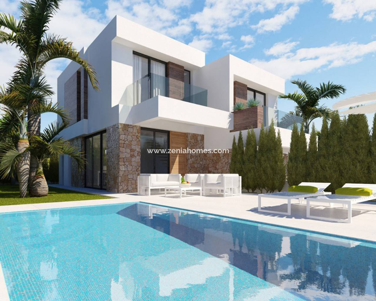 Semi-Detached Villa - Nouvelle construction - Finestrat - Finestrat