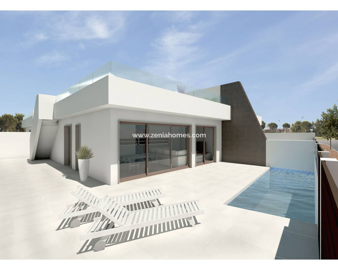 Semi-Detached Villa - Nouvelle construction - Pilar de la Horadada - Pilar de la Horadada