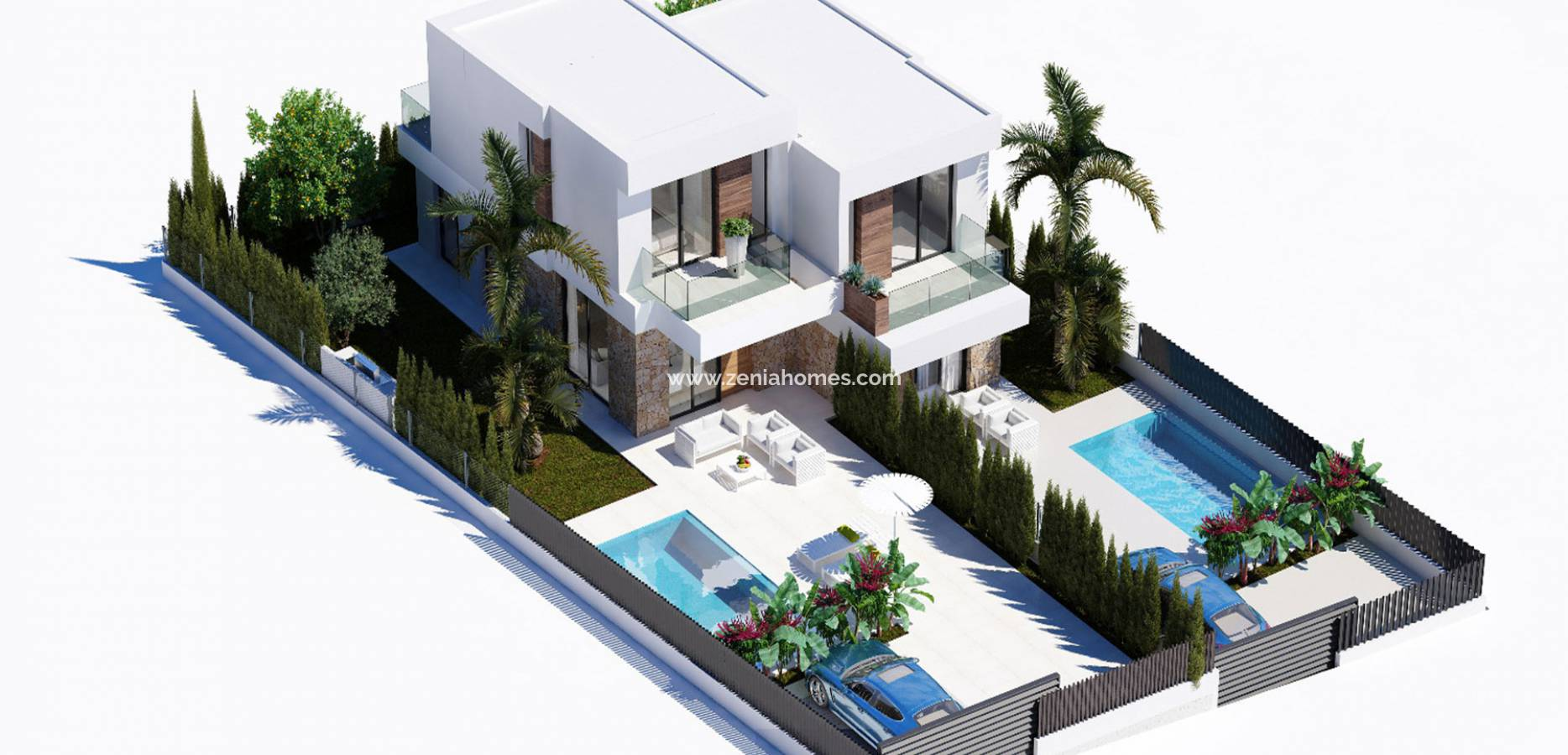 Nouvelle construction - Semi-Detached Villa - Finestrat